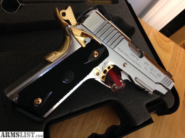 armslist for sale taurus pt1911 38 super polished ss