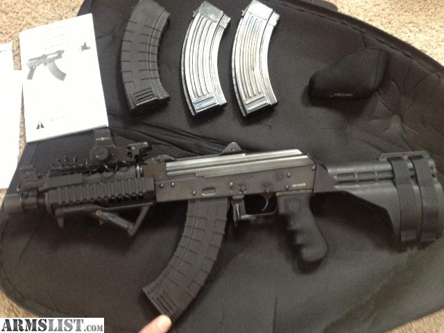 Armslist For Sale Ak Pap M92 Pistol With Stabilizer Brace