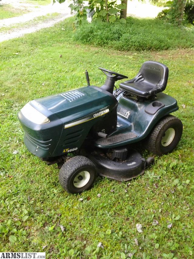 Craftsman Lawn Mower 42 Quot Deck : Armslist for sale craftsman riding mower hp quot deck
