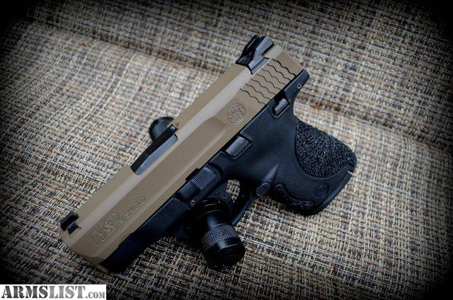 M And P Shield Custom ARMSLIST - For Sale: S...