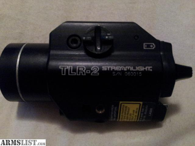 armslist for sale streamlight tlr 2 light laser combo like new. Black Bedroom Furniture Sets. Home Design Ideas