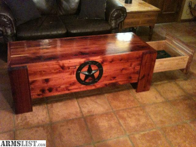 ARMSLIST - For Sale: Concealed Firearm Coffee Table