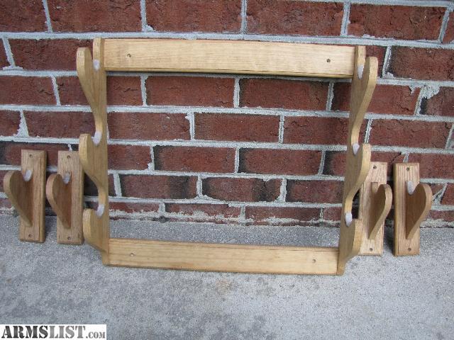 ARMSLIST For Sale Wooden gun racks
