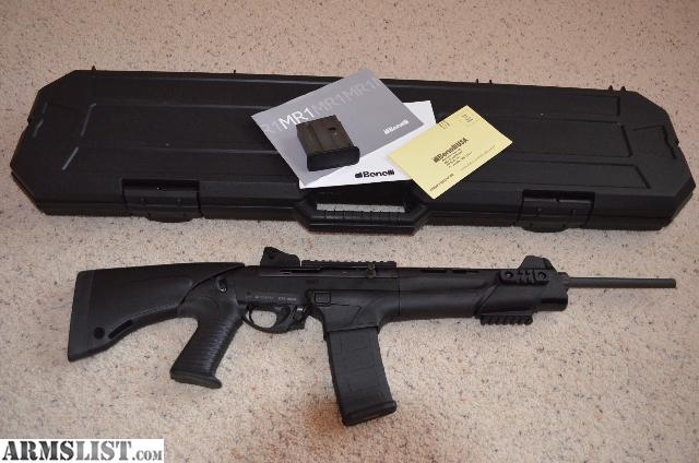 armslist - for sale: benelli mr1 tactical semi-auto rifle w