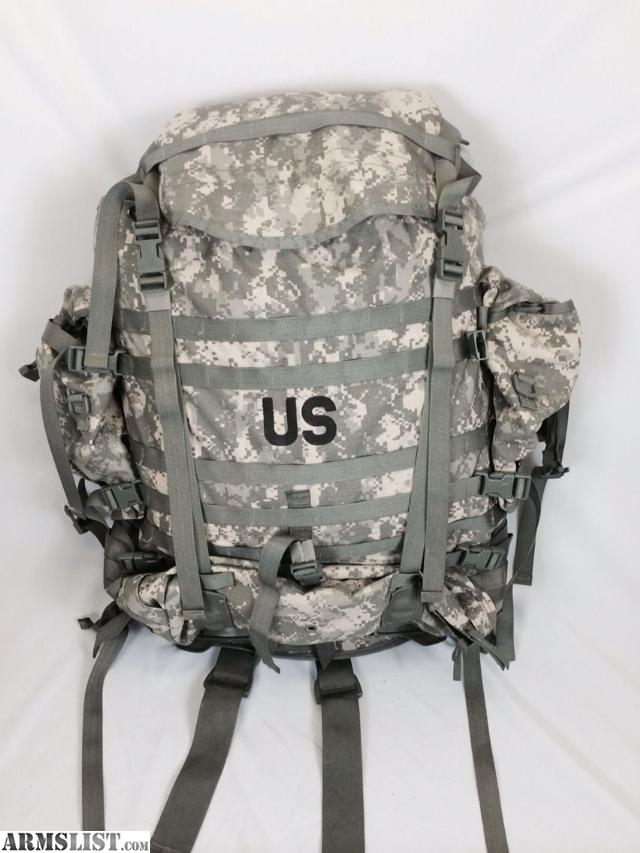 this is the molle ii ruck sack backpack current issue by the us military molle ii modular lightweight load carrying equipment large rucksack gen 4 frame - Military Rucksack With Frame