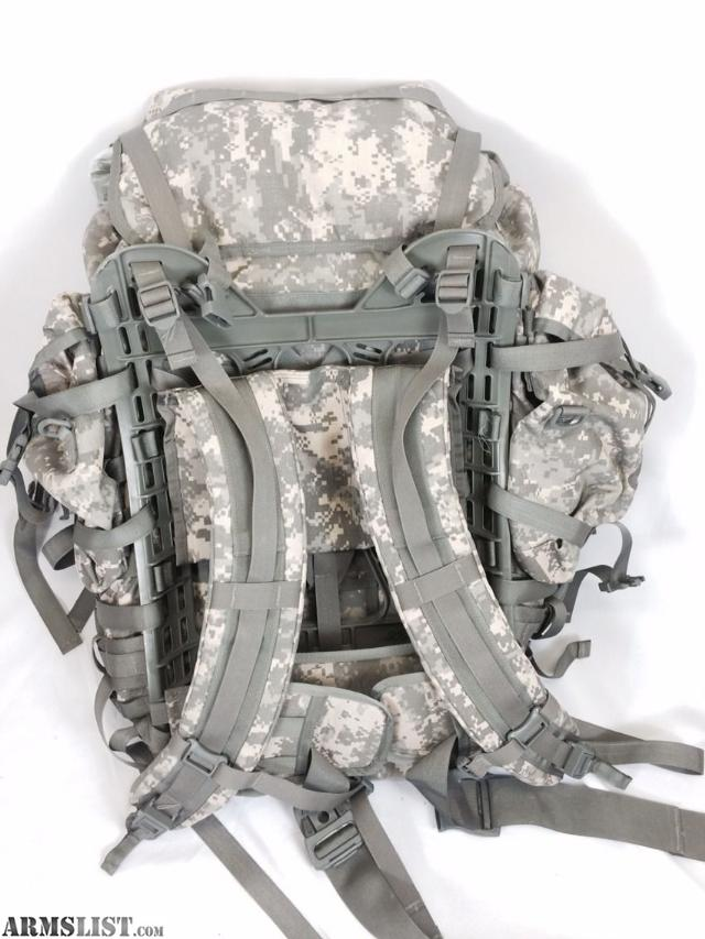 this is the molle ii ruck sack backpack current issue by the us military molle ii modular lightweight load carrying equipment large rucksack gen 4 frame