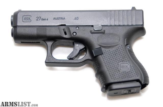 Armslist For Sale Glock 27 Gen4 New In Box