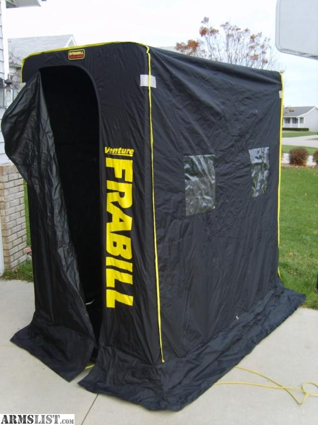Armslist for sale frabill ice shelter for Ice fishing shelters clearance