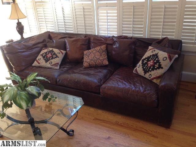 Armslist for sale restoration hardware sofa for Restoration hardware sectional sofa sale