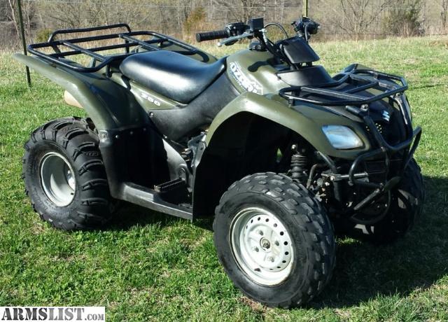 ARMSLIST - For Sale/Trade: 2008 Suzuki Ozark 250 Utility ATV