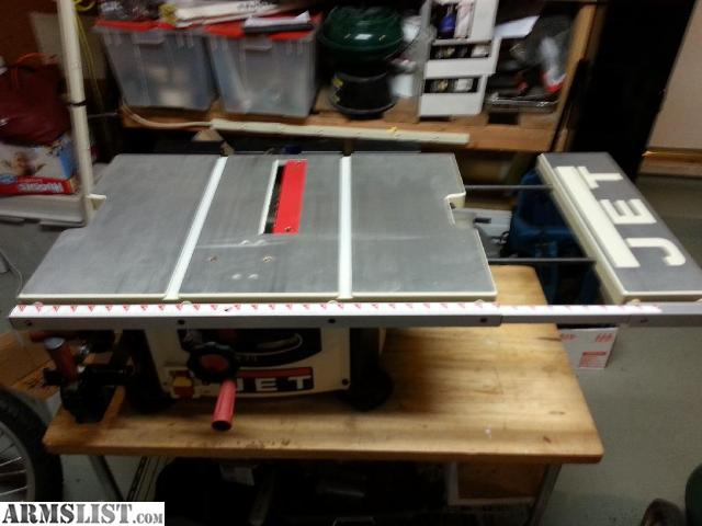Armslist for sale trade jet 10 table saw model 708315btc for 12 inch table saws for sale