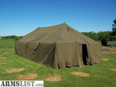 Armslist for sale military wall tent 1 gp medium 16x32 for Colorado canvas tent