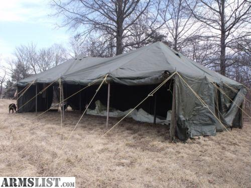 For Sale Military Wall Tent 1 GP Medium 16X32 u0026 1 GP Small 17x17 Canvas - Outfitters Hunting & ARMSLIST - For Sale: Military Wall Tent 1 GP Medium 16X32 u0026 1 GP ...