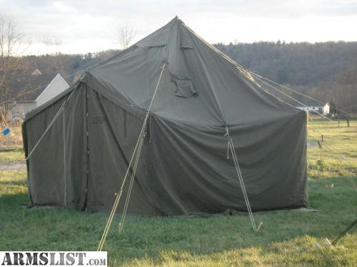 Donu0027t be fooled by other people on Craigslist. I bought this from a guy in Castle Rock and although it was only $650 I had to pay $50 for the Wood Stakes ... & ARMSLIST - For Sale: MILITARY WALL TENT 1 GP SMALL 17X17 u0026 1 GP ...
