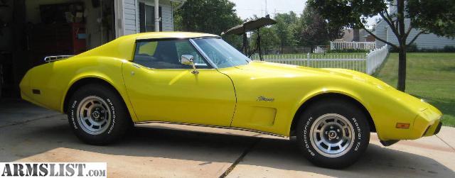 armslist for sale 1976 corvette stingray. Black Bedroom Furniture Sets. Home Design Ideas