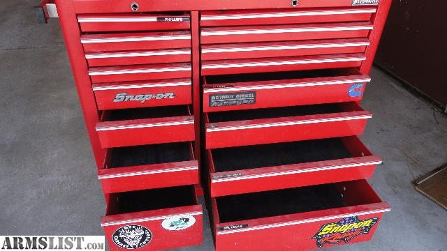 ARMSLIST - For Sale: Snap on Craftsman tool box