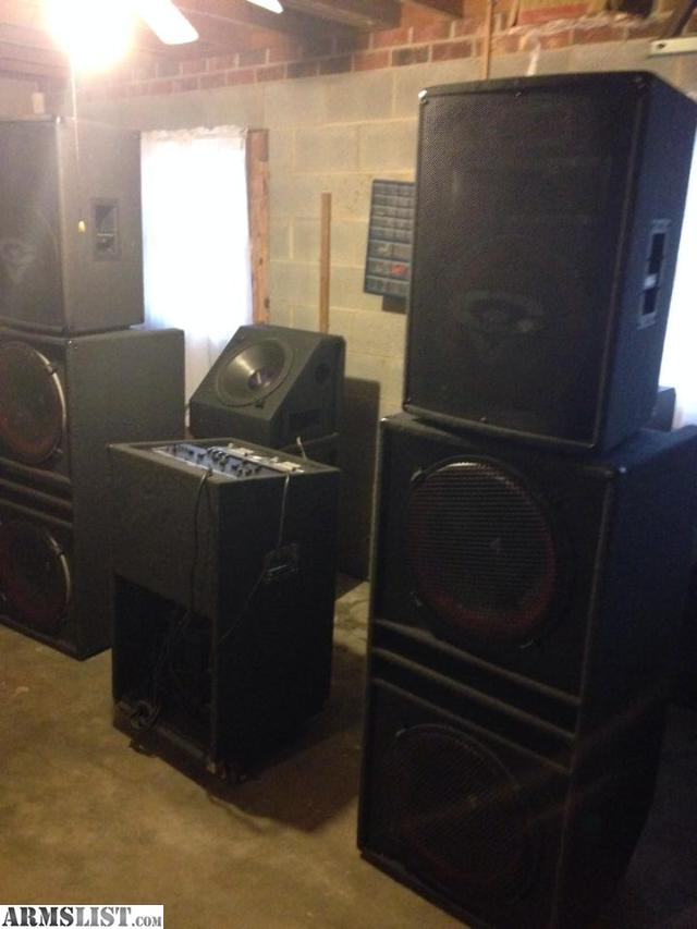 armslist for sale trade complete professional dj set up. Black Bedroom Furniture Sets. Home Design Ideas
