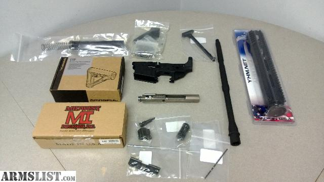Build Directions For Ar Lower Kit