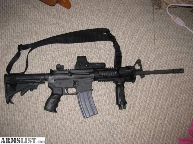 For Sale: Bushmaster AR 15 223/5.56