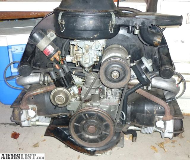 Vw 1600 Beetle For Sale: For Sale/Trade: Fan Boat Motor (VW
