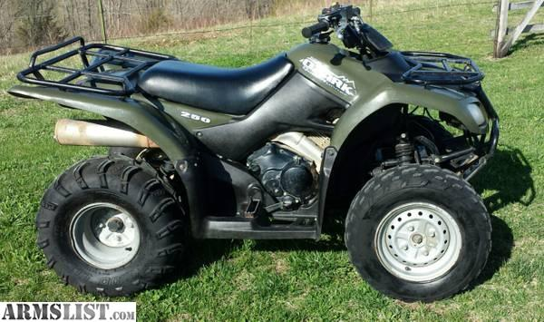 ARMSLIST - For Sale/Trade: SELL/TRADE: 2008 Suzuki Ozark 250 Utility ATV