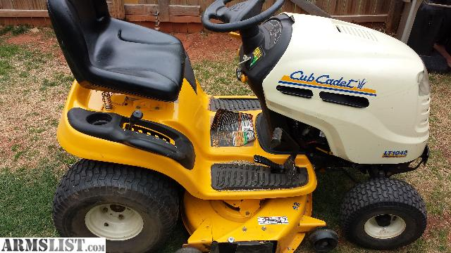 Armslist For Sale Cub Cadet Lt1040 42 19hp Automatic