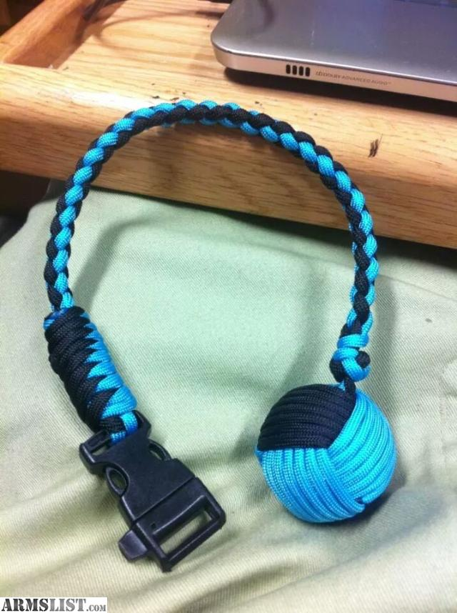 how to make a two color monkey fist