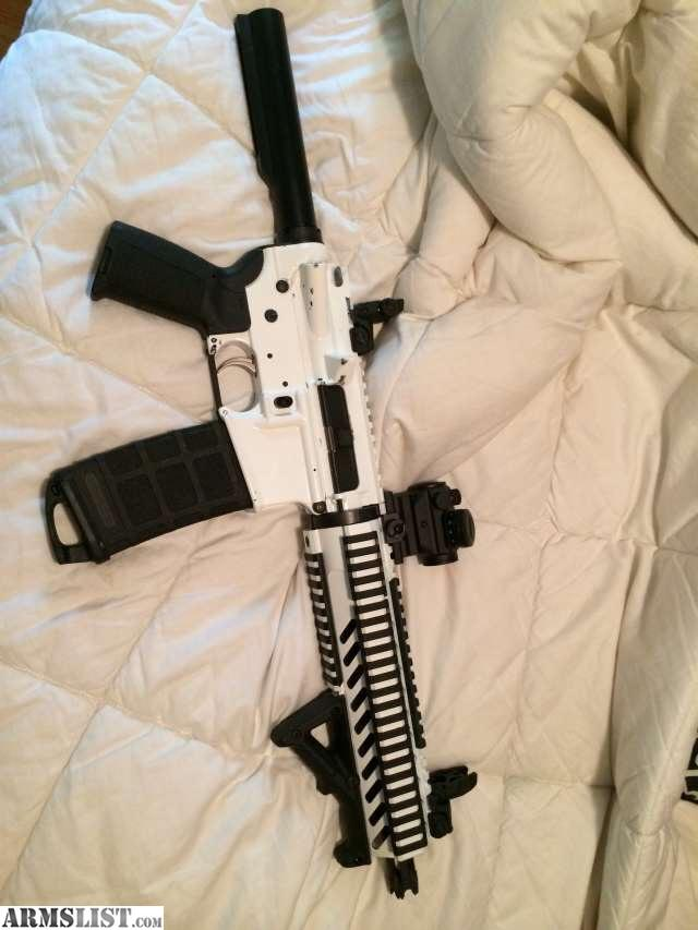ARMSLIST - For Sale/Trade: Arctic White 300BLK AR Pistol