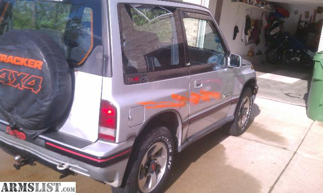 armslist for sale 1990 geo tracker 4x4 auto w 115k miles extra motor 85k miles. Black Bedroom Furniture Sets. Home Design Ideas