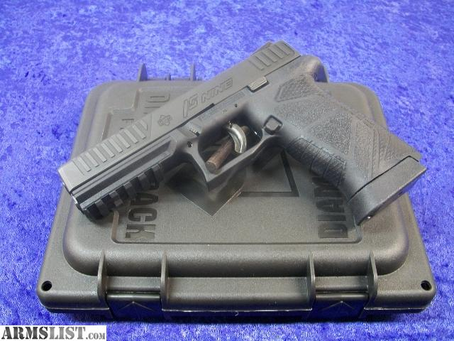 ARMSLIST - For Sale: Diamondback DB FS NINE (9mm full size)