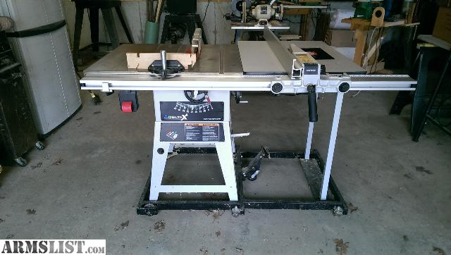 Armslist For Trade Delta X5 10 Quot Contractor S Table Saw
