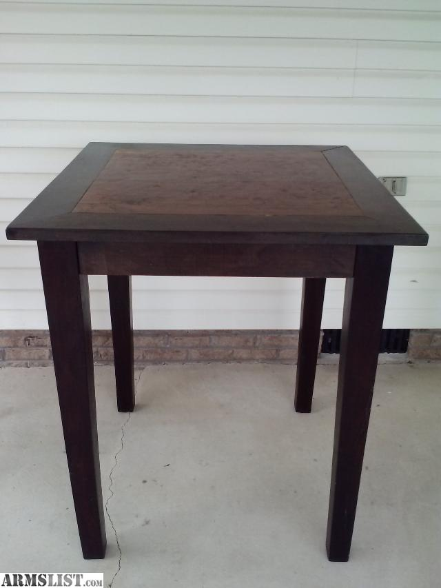 ARMSLIST - For Sale/Trade: Bar Height Table and Chairs