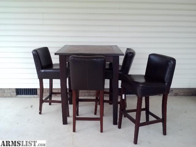 Counter Height Table And Chairs For Sale : ARMSLIST - For Sale/Trade: Bar Height Table and Chairs