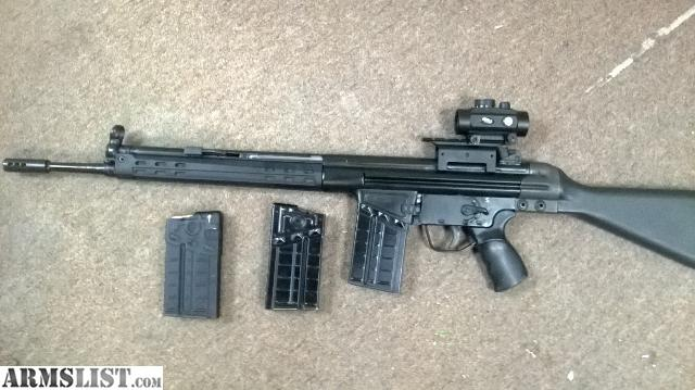 Cetme G3 For Sale: For Sale/Trade: CETME C91 HK G3 CLONE