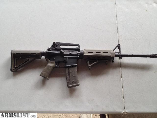 Armslist For Sale Trade Ar 15 With All Magpul Furniture And 22lr Conversion Kit Magazines