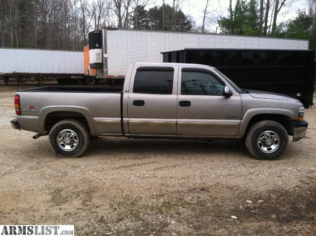 armslist for sale 2001 chevy 2500 crew cab 4x4 4900 weare. Black Bedroom Furniture Sets. Home Design Ideas