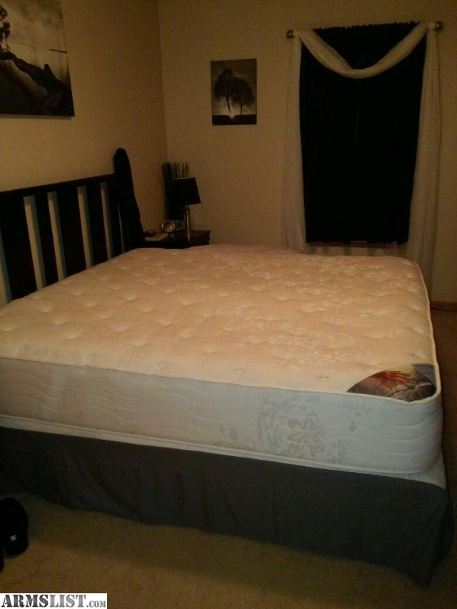 Armslist for sale king size mattress and boxsprings Mattress sale king