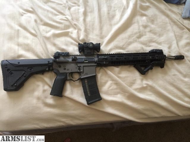 Armslist For Sale High End Build Rainier Arms