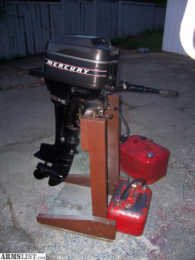Armslist for sale trade clean mercury 7 5hp outboard for 5hp outboard motor for sale