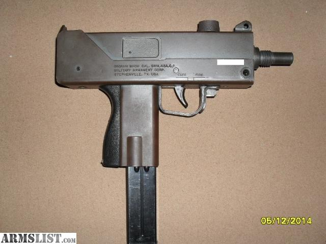 ARMSLIST - For Sale/Trade: MAC 10 9mm