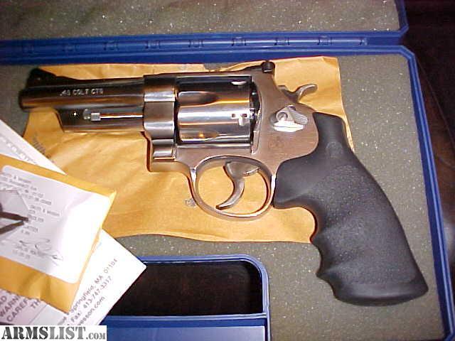 For Sale: S&W MODEL 625-9 MOUNTAIN GUN 45LC