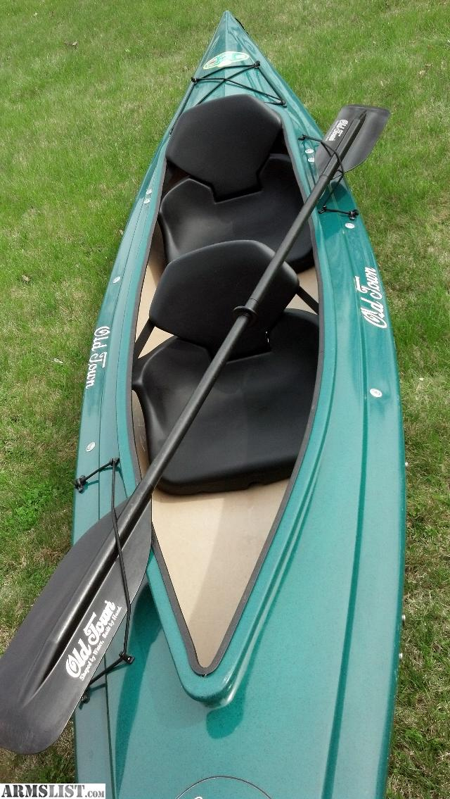 Armslist for sale trade great shape old town kayak 2 man for Fishing kayaks for sale near me