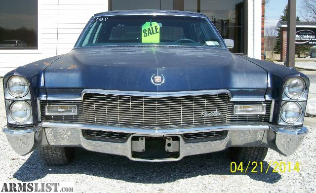 armslist for sale 1968 cadillac fleetwood super sixty brghm 4 door v8 at. Black Bedroom Furniture Sets. Home Design Ideas