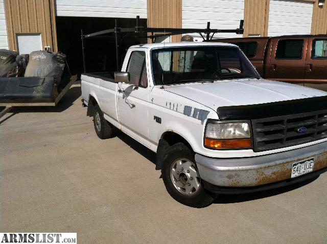 armslist for sale trade 1992 ford f150 work truck. Black Bedroom Furniture Sets. Home Design Ideas