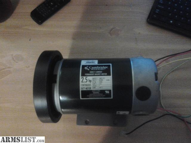 armslist for sale 2 5 hp treadmill motor