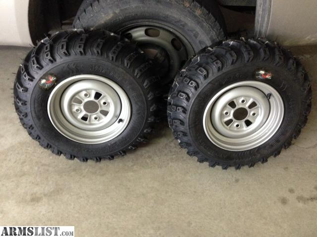 ARMSLIST - For Sale/Trade: New ATV wheels and tires.