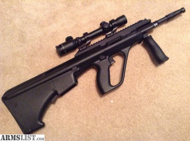 Armslist for sale steyr aug a3 nato stock steyr aug a3 with nato stock uses standard ar magazines original owner this rifle comes with a new sealed pmag burris signature 15x6 illuminated voltagebd Gallery