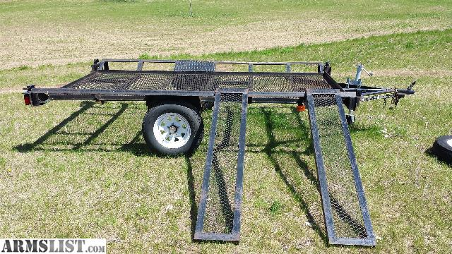 Triton 2 Place Atv Trailer 2016 New