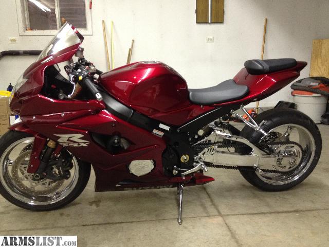 Armslist for sale 05 suzuki gsxr 1000 conpletely custom for Suzuki gsxr 1000 motor for sale