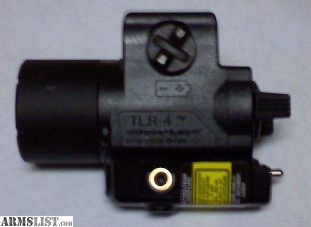 armslist for sale streamlight tlr 4 laser light combo never used. Black Bedroom Furniture Sets. Home Design Ideas